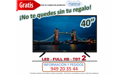 """TELEVISION 40"""" TDT 2"""